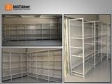 Estante de armazém para cargas médias e baixas